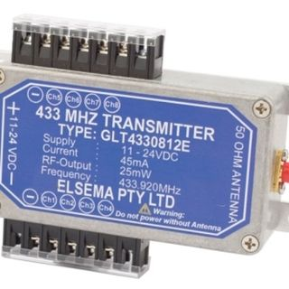 8 Channel Transmitter in Diecast enclosure